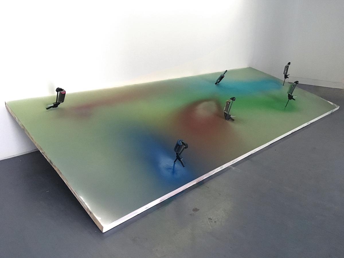 Kévin Cadinot, plasticien – scénographe : Under Way