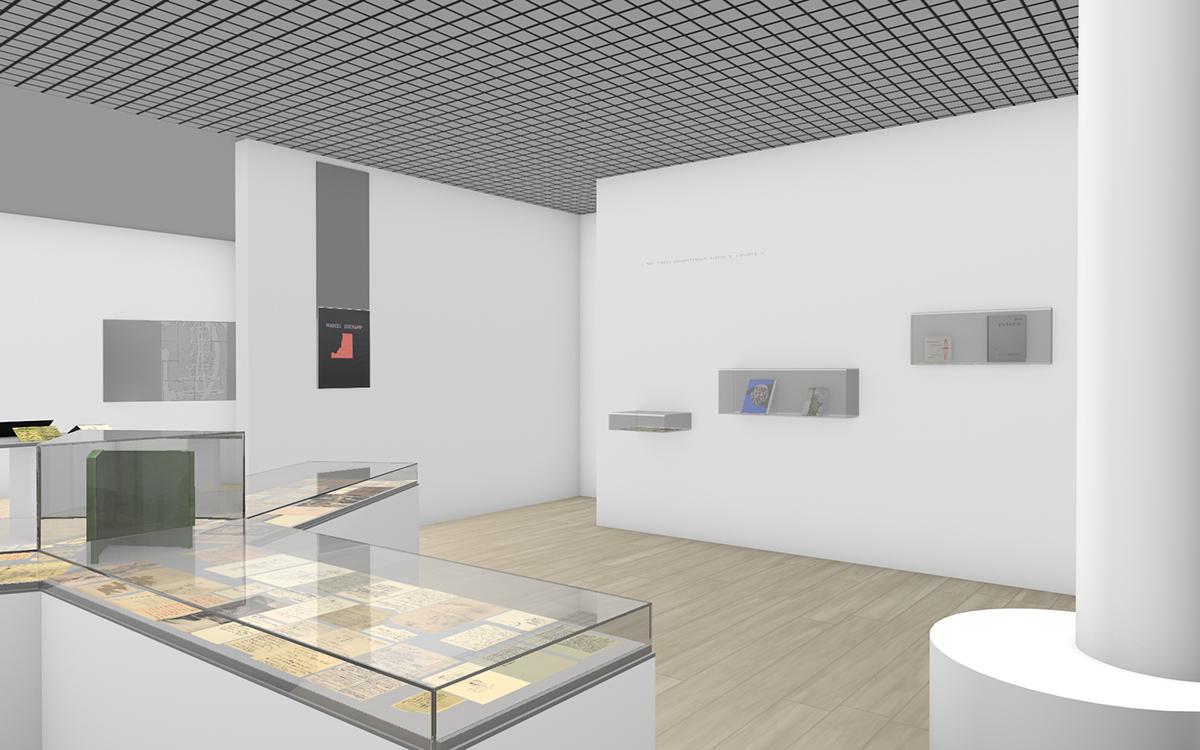 Kévin Cadinot, plasticien – scénographe : Marcel Duchamp, faire impressions