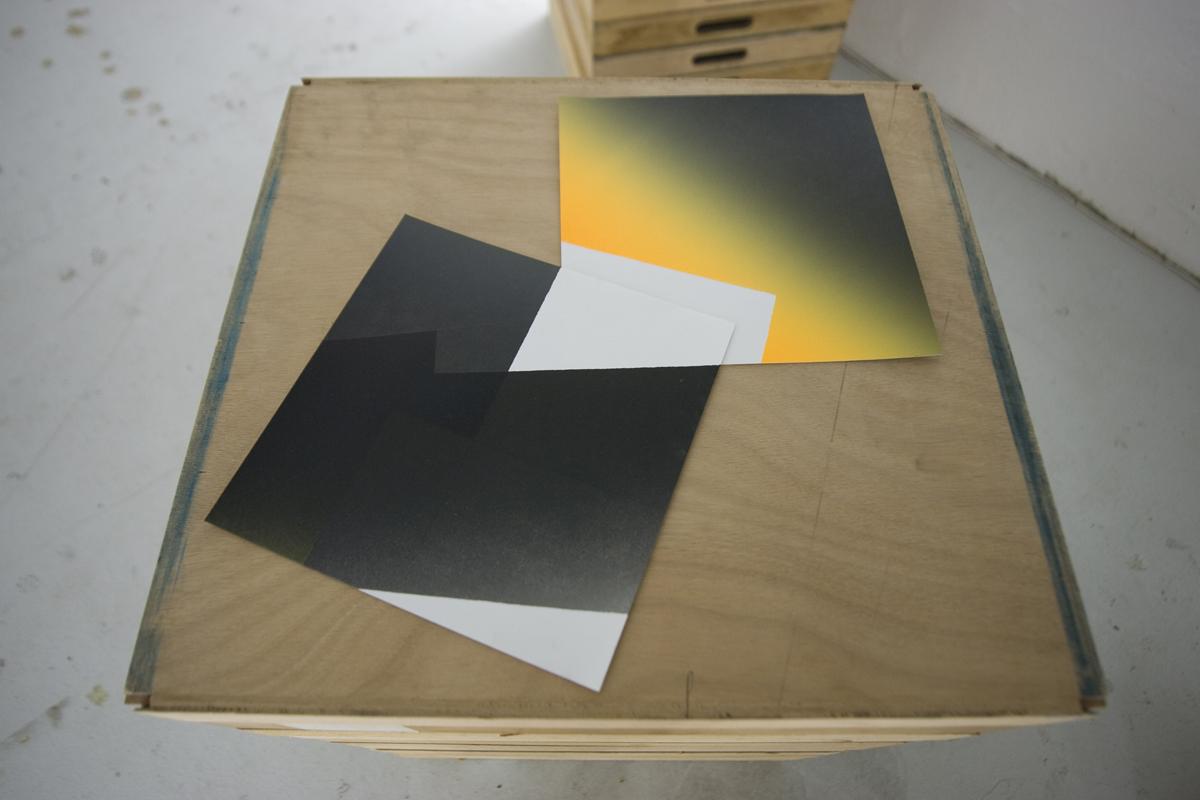 Kévin Cadinot, plasticien – scénographe : Construction